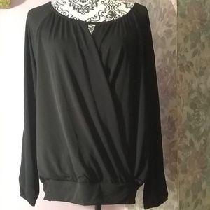 Express black long sleeved tunic. NWT
